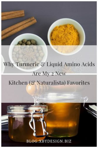 Why Turmeric & Liquid Amino Acids Are My 2 New Kitchen Favorites