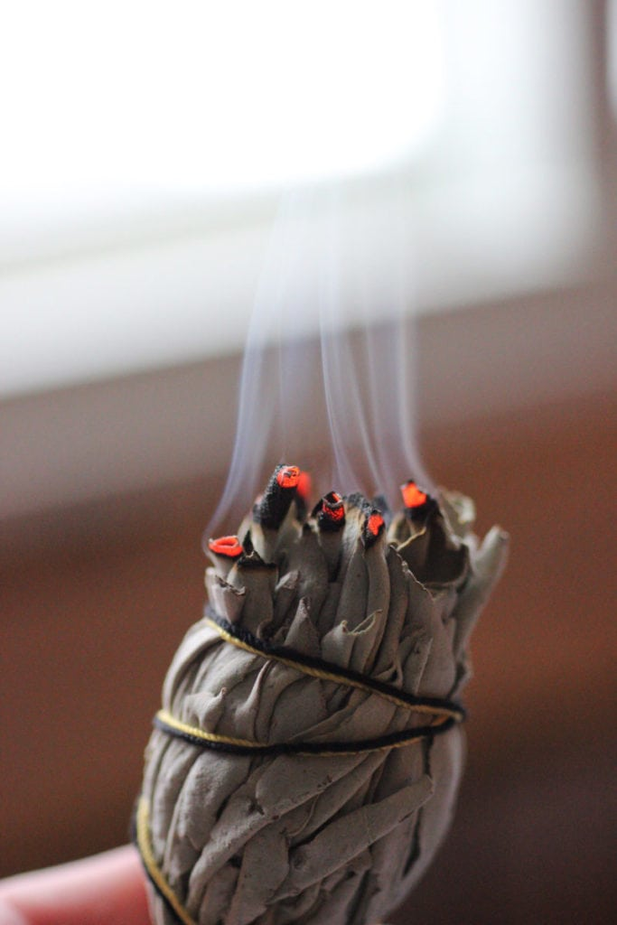 here's why you don't completely love your home & what you can do about it - Cleanse your home regularly.  Burn sage, dried bay leaves, or incense.